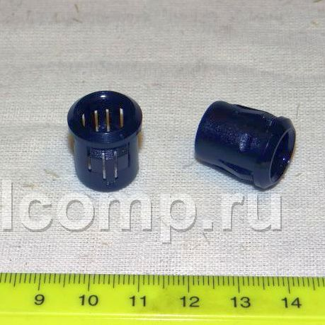RTF-1090 : держатель пластмассовый для светодиодов 10mmBlack plastic mounting clip for 10mm LED. Quick mounting, LED should be pressed in....