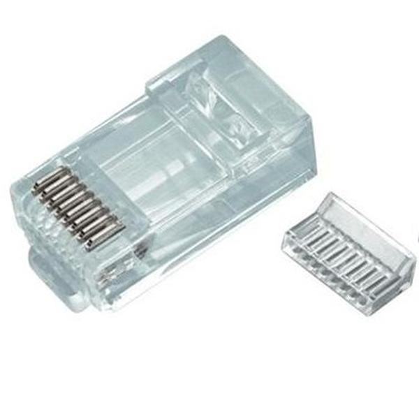 RG45P-8/8 CAT5 : разъем вилка 8p8c RJ45 Cat.5Unshielded RJ Connectors....