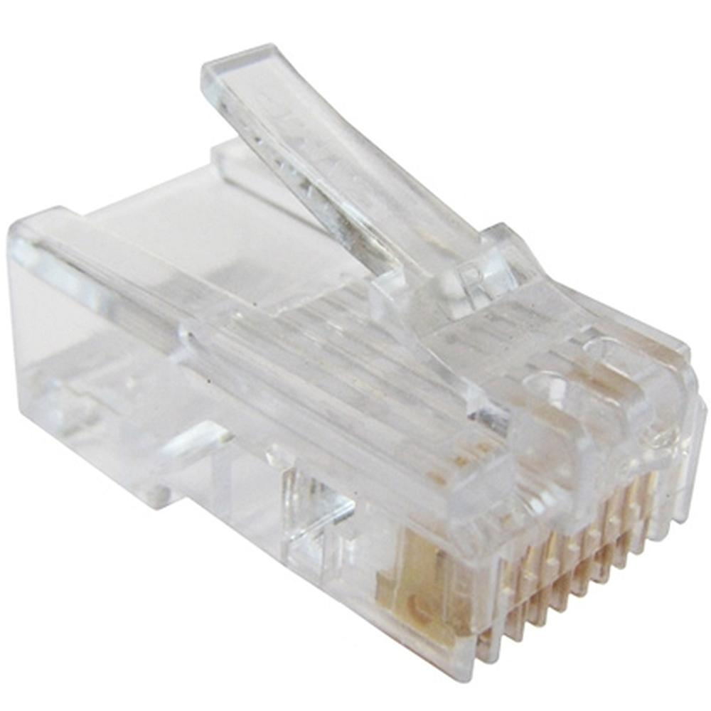 RG45P-8/8R : разъем-вилка RJ45 CAT5RJ45 connector, 8 pin for CAT 5e....