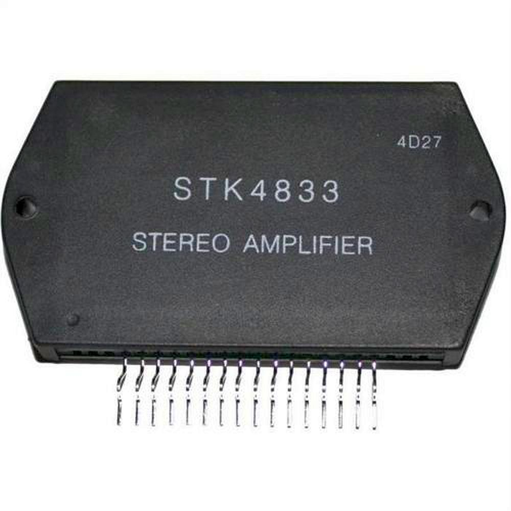 2x30w Audio Amplifier With Stk465 Stk4833 225w 25v 100khz Sip16 Sanyo