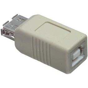 CMP-USB3 : переходник USB A розетка - USB B розеткаAdapter USB type A female - USB type B female...