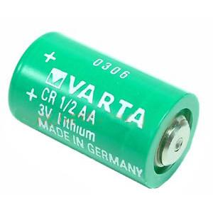 CR1/2AAS Varta : литиевая батарейка 3V 950mAH NO LIPS 14.75*25.1mmThis is the reliable energy supply for electronic equipment such as pocket calculato...