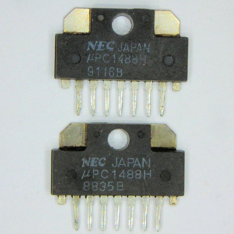 Микросхема кадровой развертки телевизора