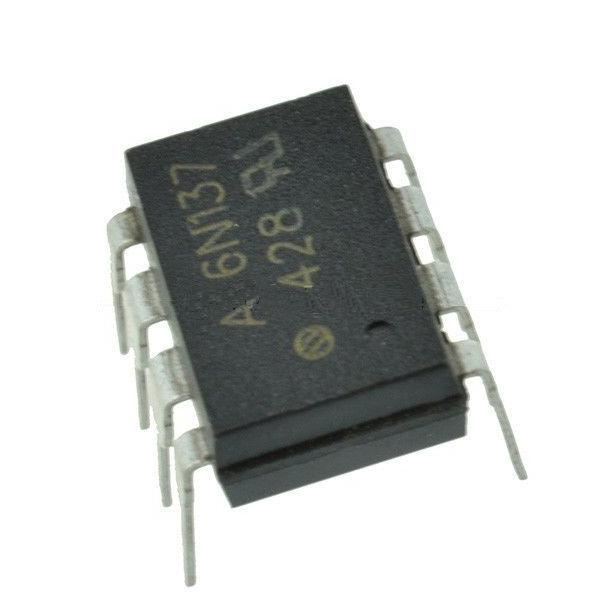 6N137 : оптопара  2.5KV 5.5V 5%Opto couplers for digital signalsordercode       No.of elem.       CTR       Viso       Vceo Vmax       Vcesat Vslow   ...