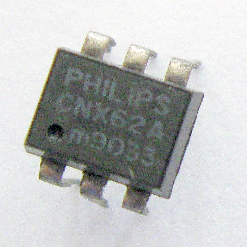 CNX62A : оптопара  50V 40% 12USявляется аналогом: CNX62, Opto couplers for analog signalsordercode       No.of elem.       CTR       Viso       Vceo V...