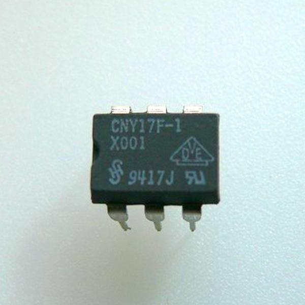 CNY17F-1 : оптопара  5.3KV 70V 80% 3usOpto couplers for analog signalsordercode       No.of elem.       CTR       Viso       Vceo Vmax       Vcesat Vs...
