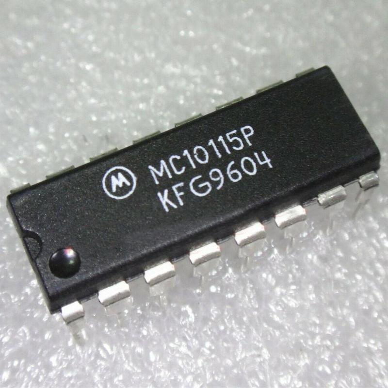 MC10115P : микросхема логики - BUS/LINE RECEIVERS, DIFFERENTIAL