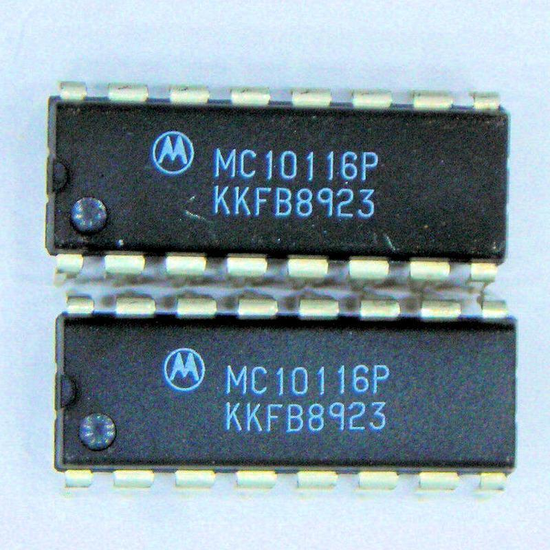 MC10116LDS : микросхема логики - BUS/LINE RECEIVERS, DIFFERENTIAL