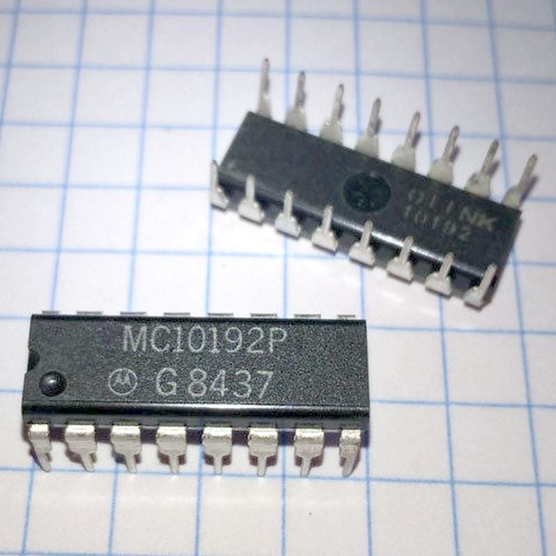 MC10192P : микросхема логики - DRIVER/TRANSMITTER DIFFERENTIAL
