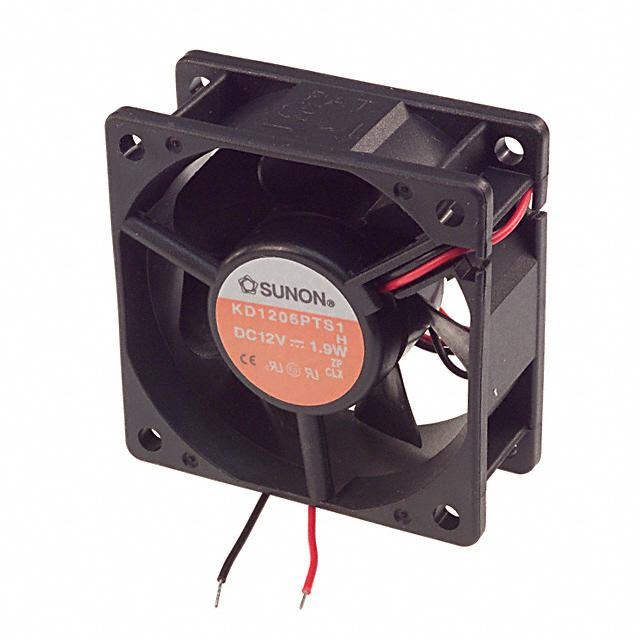 вентилятор 60*60*25mm 12V DC, KD1206PTS1 Sunon