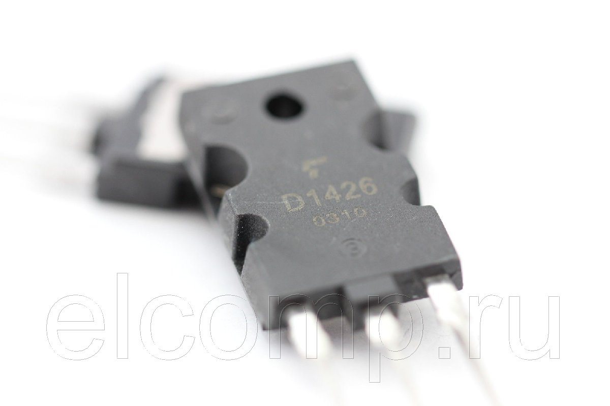 2SD1426 : транзистор SI-N+D 1500V 3.5A...